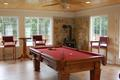Game Room Includes Room for a Pool Table, Wood Stove and More