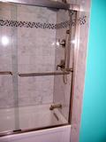 Hall Shower faucets side