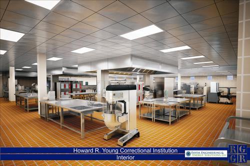 Kitchen Expansion At Howard R Young Correctional Institution