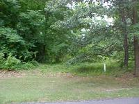 VIEW OF HIGDON LAUREL DRIVE RESIDENTIAL LOT FROM FRONT NORTH