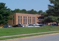 VIEW OF FRONT OF PENSION DEPT BLDG AT SILVER LAKE OFFICE PARK