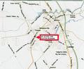 CLAYTON BIO DIESEL PROPERTY MARKET AREA MAP