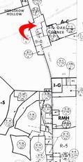 FERGUSON WAREHOUSE ZONING MAP