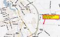 McDANIEL BUSINESS PARK PROPERTY MARKET AREA MAP