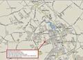 SAULSBURY CROSSROADS MARKET AREA MAP
