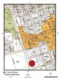 SAFFORD NORTH STREET OFFICE LEASE ZONING MAP