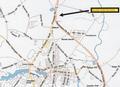 CALVARY ROAD PAD SITES MARKET AREA MAP