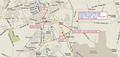 COMCAST WAREHOUSE MARKET AREA MAP