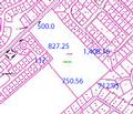 DSHA BEAVER DAM ROAD PROPERTY TAX MAP WITH DIMENSIONS