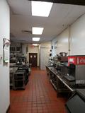 HOLIDAY INN DOVER RESTAURANT INTERIOR KITCHEN COLD COOKING LINE VIEW