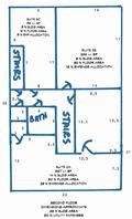 HYLIND OFFICE PROPERTY SECOND FLOOR PLAN
