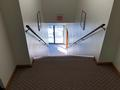 LEINER WALKER SQUARE OFFICE INTERIOR VIEW OF FRONT ENTRY STAIRS