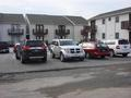 SAFFORD OFFICE PROPERTY LEASE REAR VIEW THROUGH PARKING LOT