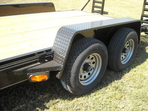 Dually Trailer Fenders : K equipment trailer