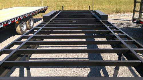 how to build a gooseneck trailer frame