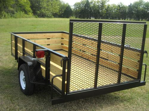 All purpose utility trailer for Wood floor utility trailer