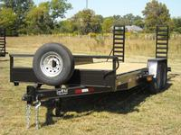 20 x 81 14K Equipment Trailer