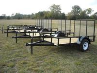 Single Axle Economy Utility Trailers