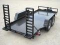 16' - 16K Equipment Trailer with Steel Floor