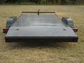 18 x 83 Steel Floor Car Hauler, 3' Dove, Ramps Underneath in Rear