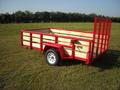 6 x 10 All Purpose Utility with Optional Tubing Top Rail & Uprights