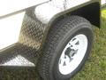 Jeep style checker plate fenders with steps