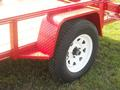 Heavy Duty Checker Plate Fenders with Steps