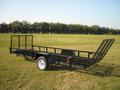 5 x 14 ATV Trailer with optional front gate.