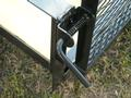Spring Loaded Gate Latches are Standard