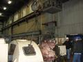 Preparing to Lift Cover Off Turbine