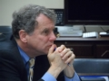 Senator Sherrod Brown Listens Intently to AMP Advocates