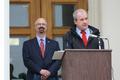 Centre County Commissioners Mark Higgins and Steve Dershem