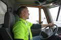 Plow operator Steve Donley