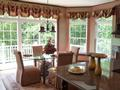 Custom Window Treatments; Wallpaper by Ronald Redding for York
