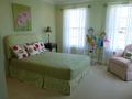 NV Girl's Bedroom Custom Bedding and Curtains