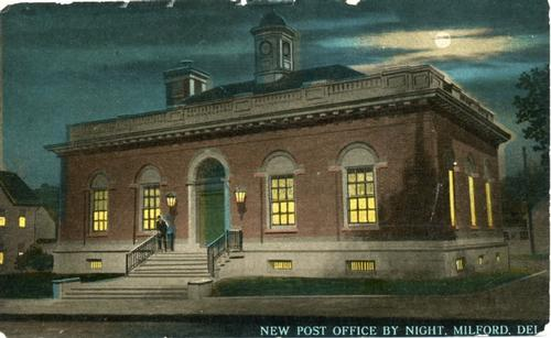 New Post Office by Night