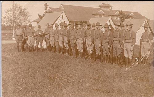 Men in Formation