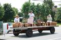 The Middletown Historical Society honored the peach industry in the parade