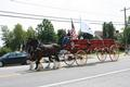 The Volunteer Hose Company of Middletown's first firetruck