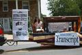 The Middletown Transcript, established in 1868, celebrated the Sesquicentennial as well.