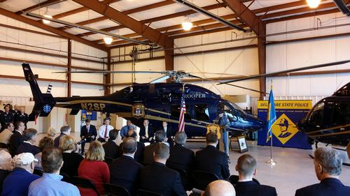 New DSP Bell 429 Helicopters - On Wednesday DSP unveiled a pair of new $8.8 million Bell 429 helicopters.