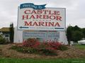 entrance to Castle Harbor Marina