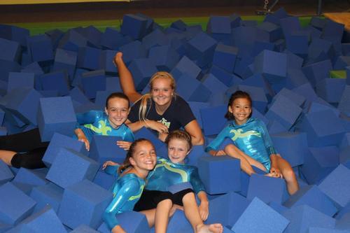 Coach Michaella and her girls!
