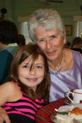 Carolyn Billingsley and grandaughter 2010
