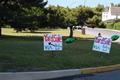 Yard Sale signs 2011