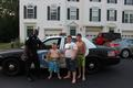 Officer Bowden with kids