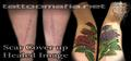 Scar Cover up Before & After with Healed images