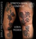 Stretchmark cover up on legs/ thighs