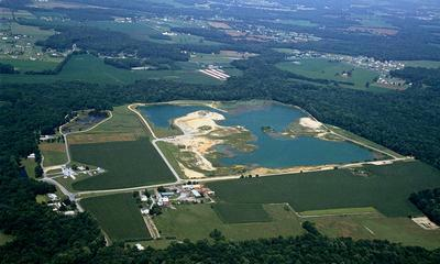 DELAWARE MATERIALS PROPERTY AERIAL VIEW