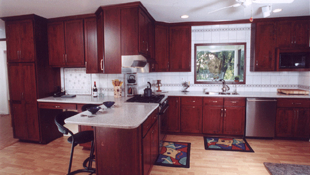 cherry shaker kitchen cabinets. Cherry Shaker Kitchen Cabinets O